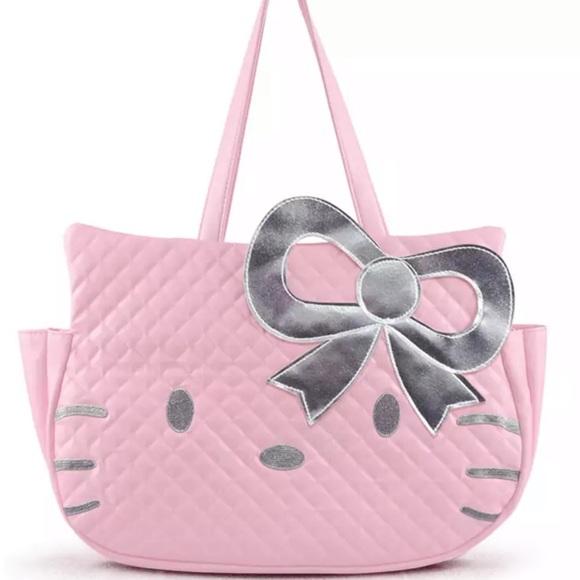 Hello kitty tote handbag 2bcf119cec523